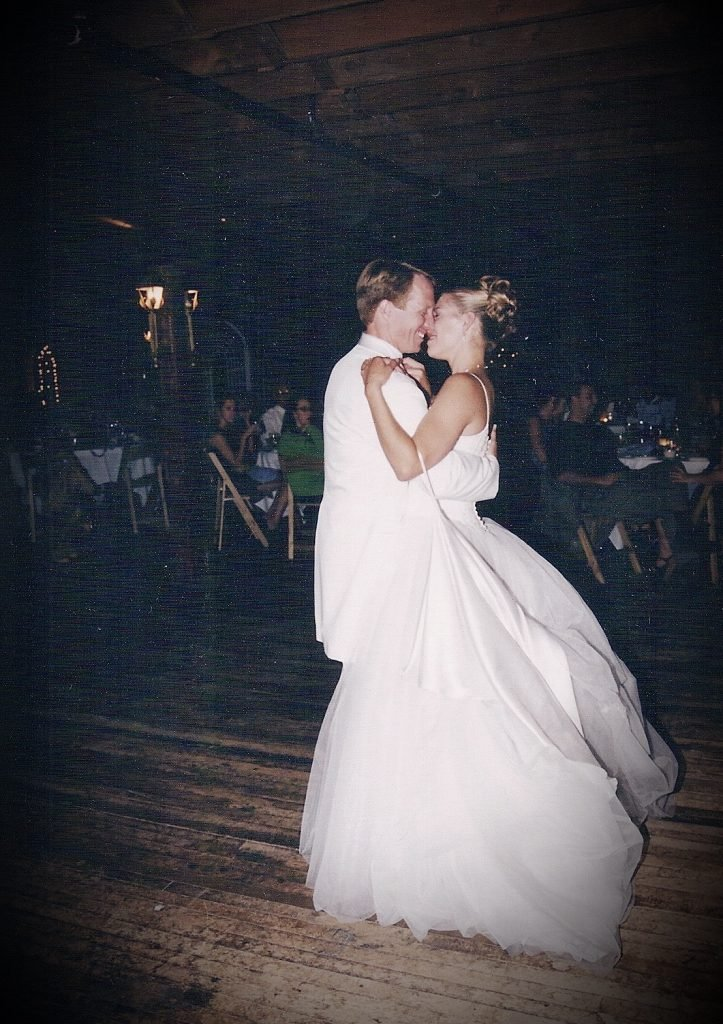 Our beginning of learning rhythms in marriage started right here dancing at our wedding