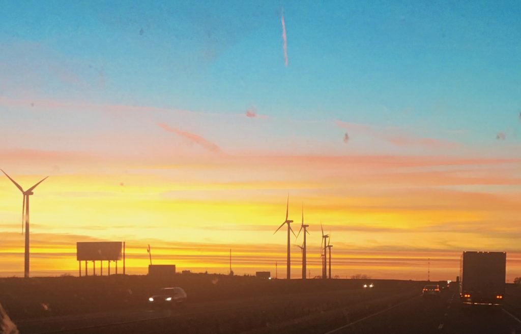 this is one of the sunsets we'll not soon forget over Oklahoma while traveling around beautiful America