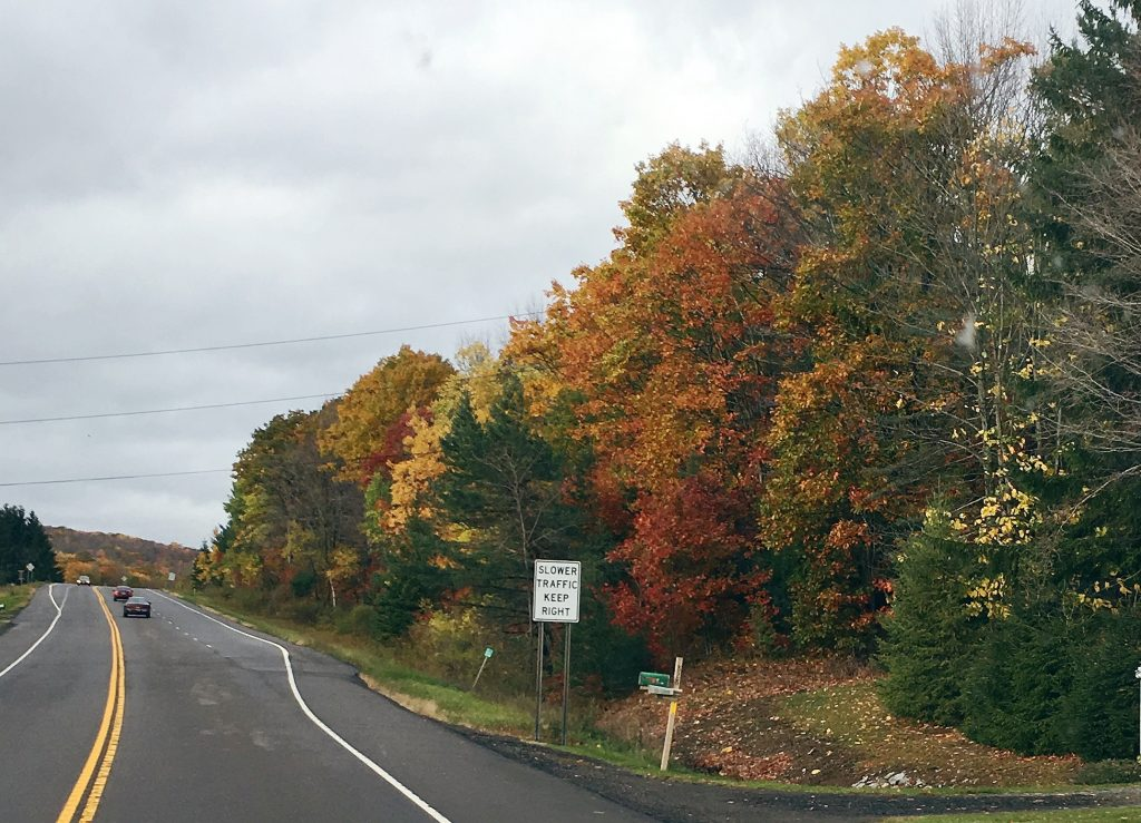 The East Coast Fall colors in upstate New York are a favorite of ours from our American Adventures