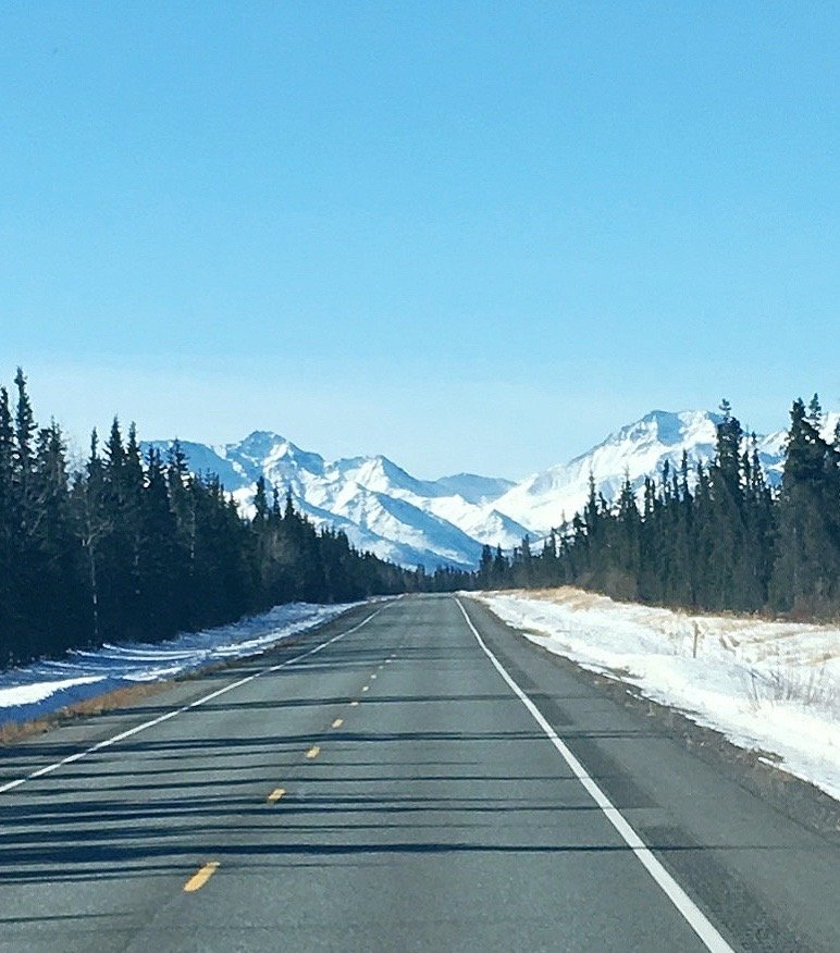 Our drives have taken us from north west to Alaska (yes, we drove there on the Al-Can)while traveling around beautiful America