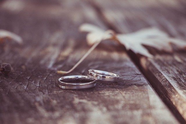 rings that signify our commitment of learning the rhythm of marriage