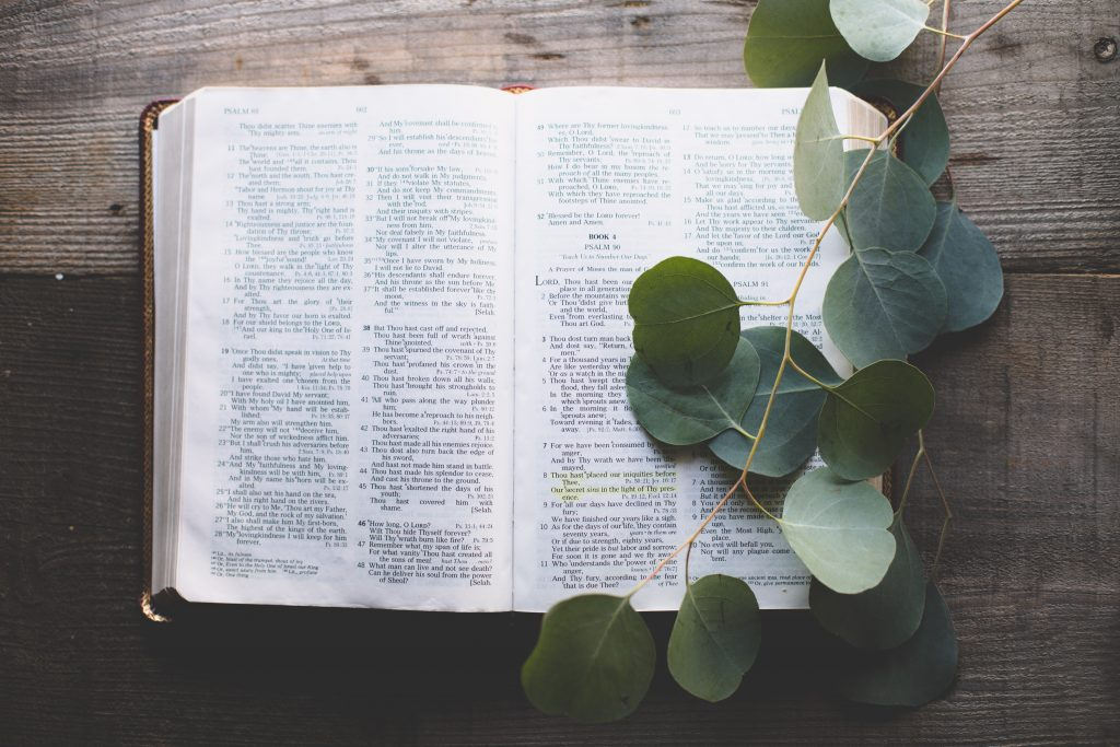 Reading God's Word can help you stay on track and keep your unintentional intentions at bay.