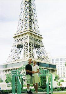 1 year Wedding anniversary at the Paris Hotel in Las Vegas Nevada