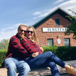 Our 18 year Anniversary trip to Flagstaff Arizona