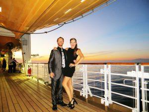 Our 14 year wedding Anniversary on a Transatlantic Disney Cruise