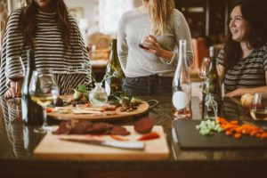 adding heart to the art of being a hostess is a sure way of making guests feel welcome
