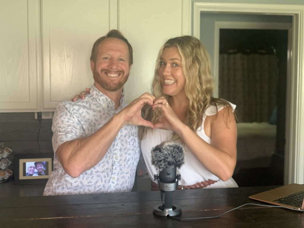 My guest on the Podcast is my sweet hubby Kevin